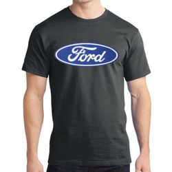 Ford Logo - Adult Soft Cotton T Thumbnail