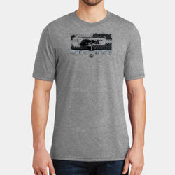 Mustang Grill - Adult Soft Tri-Blend T Thumbnail