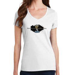 Cobra Grill - Ladies V-Neck T Thumbnail