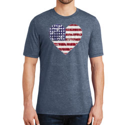 Love America - Adult Soft Tri-Blend T Thumbnail
