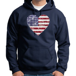 Love America - Adult 50/50 Blend Hoodie Thumbnail