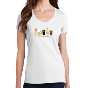Beer Thirty - Ladies V-Neck T Thumbnail