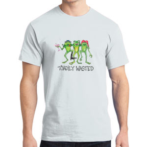 Toadily Wasted - Adult Soft Cotton T Thumbnail