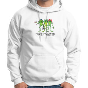 Toadily Wasted - Adult 50/50 Blend Hoodie Thumbnail