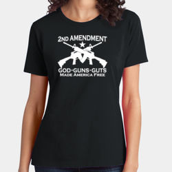 2nd Ammendment - Ladies Soft Cotton T Thumbnail