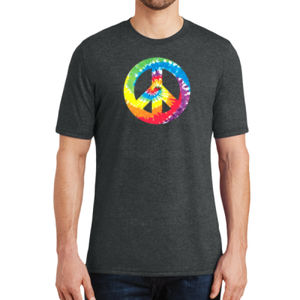 Peace Sign - Adult Soft Tri-Blend T Thumbnail