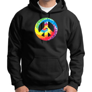 Peace Sign - Adult 50/50 Blend Hoodie Thumbnail