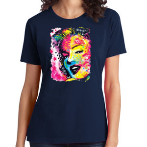 Marilyn - Ladies Soft Cotton T Thumbnail