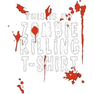 Zombie Killing T Shirt Thumbnail
