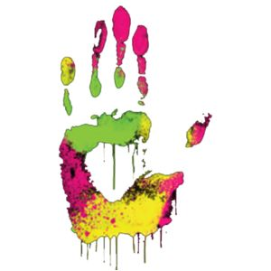 Colorful Hand Print Thumbnail